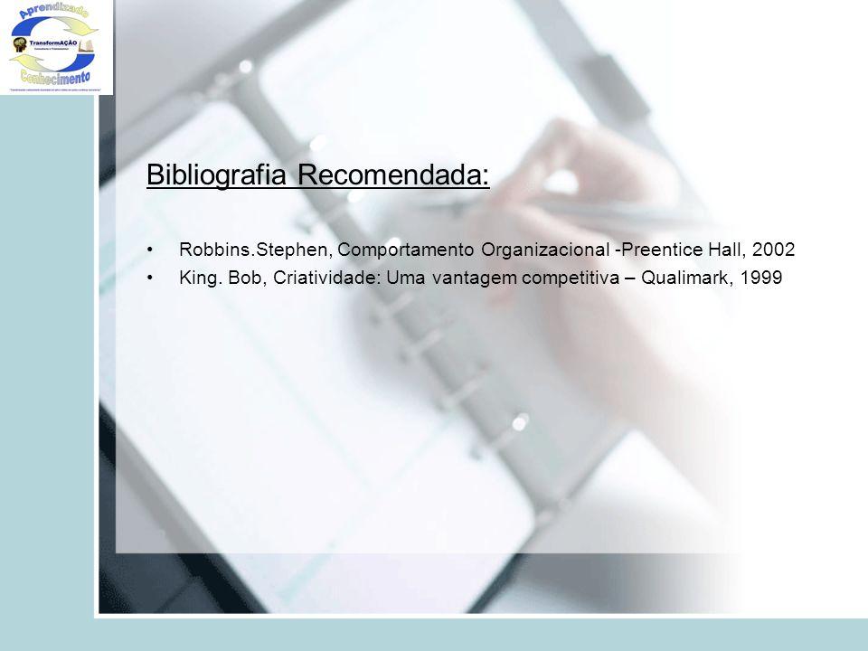 Bibliografia Recomendada: