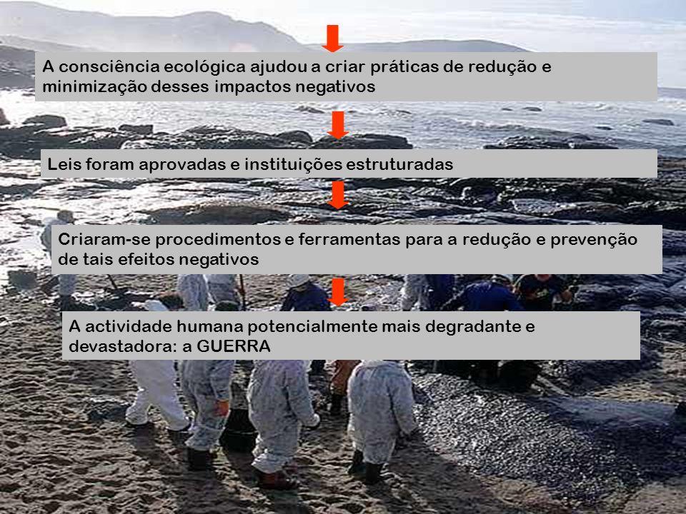 A consciência ecológica ajudou a criar práticas de redução e minimização desses impactos negativos