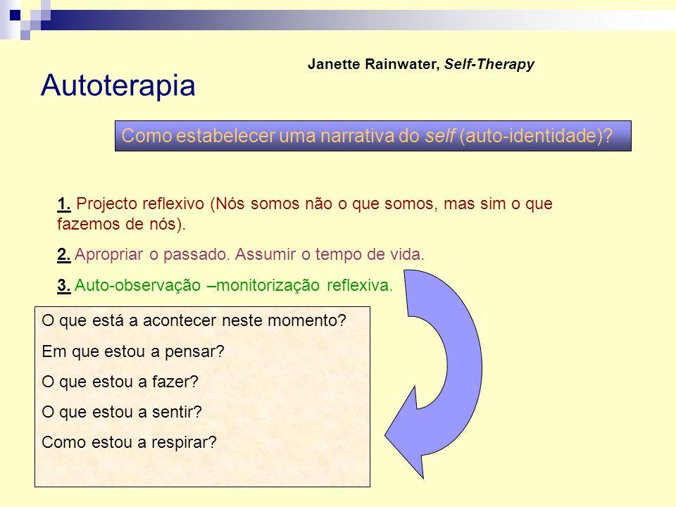 Autoterapia Como estabelecer uma narrativa do self (auto-identidade)