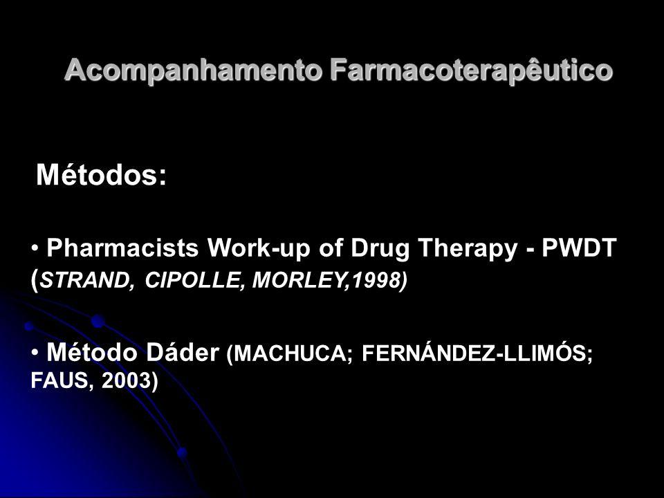 Acompanhamento Farmacoterapêutico
