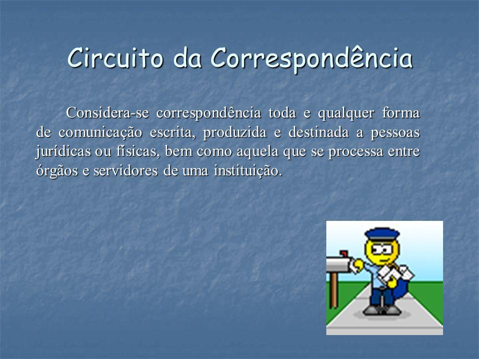 Circuito da Correspondência