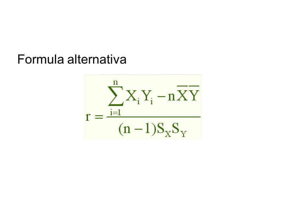 Formula alternativa