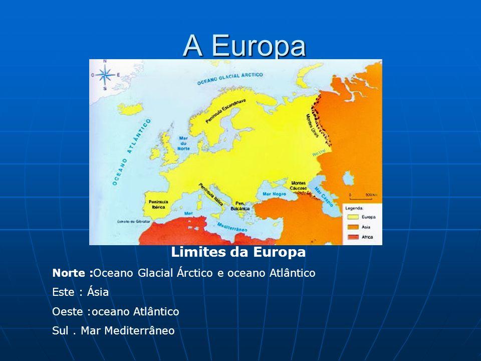 A Europa Limites da Europa
