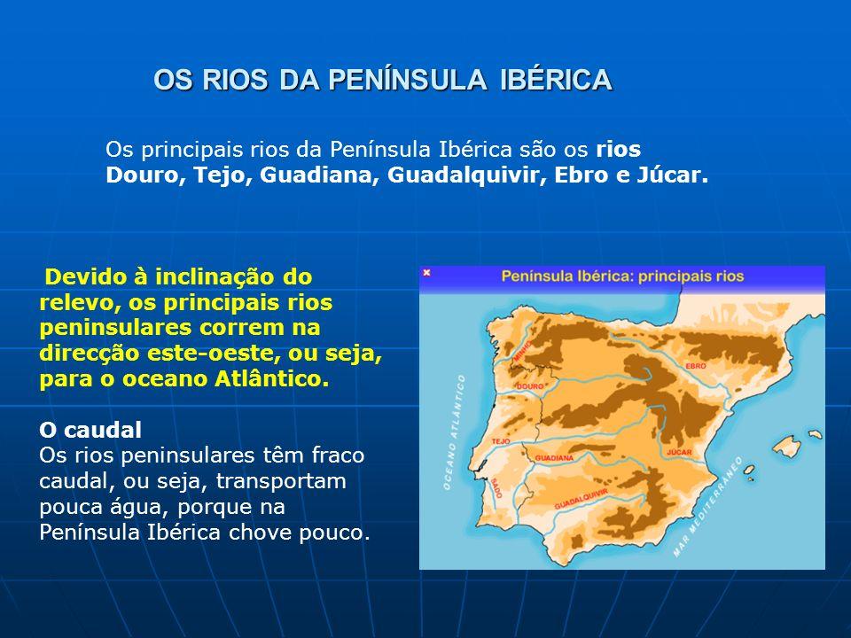 OS RIOS DA PENÍNSULA IBÉRICA