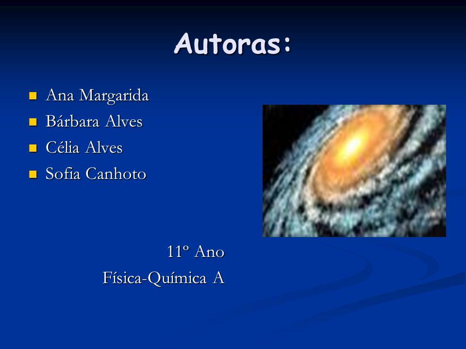 Autoras: Ana Margarida Bárbara Alves Célia Alves Sofia Canhoto 11º Ano