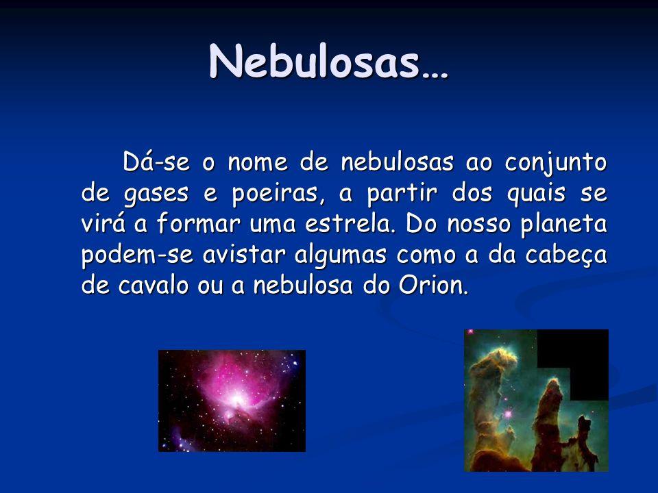 Nebulosas…