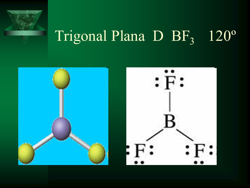 Trigonal Plana D BF3 120º