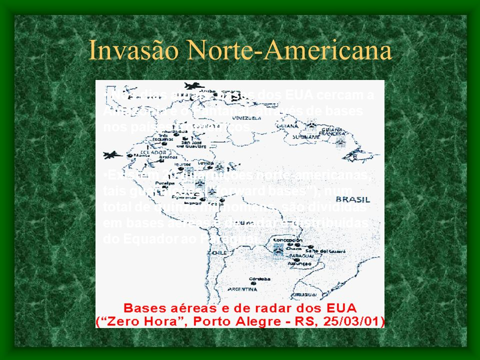 Invasão Norte-Americana