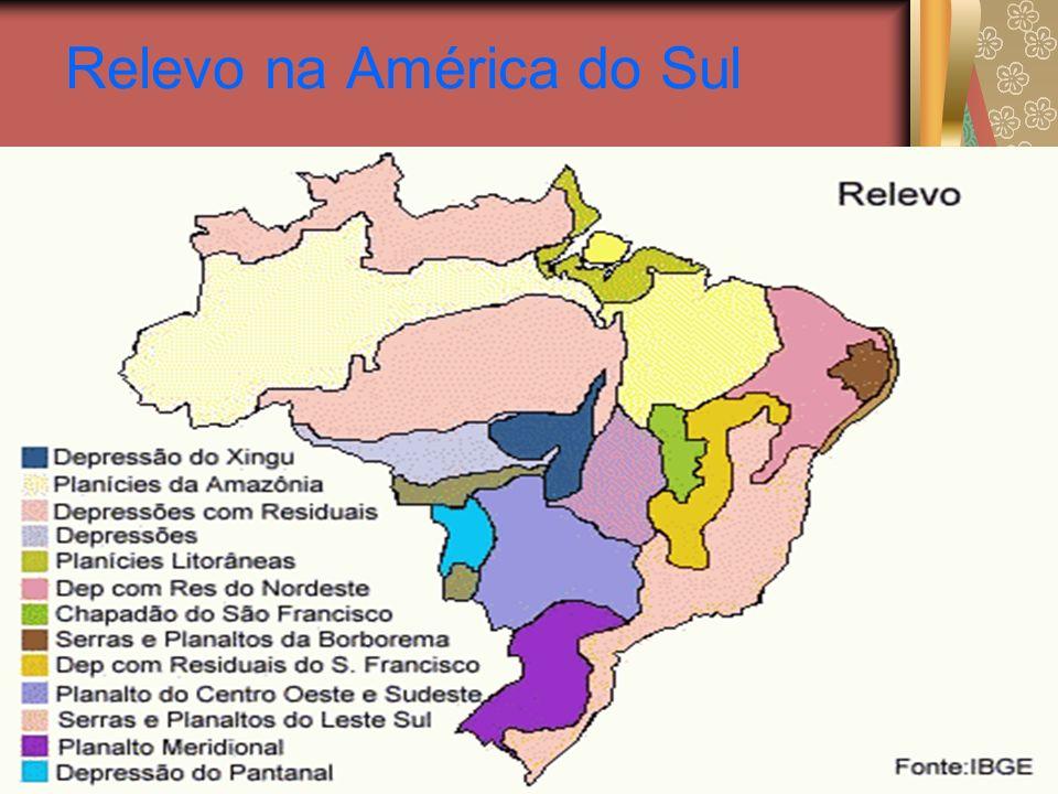 Relevo na América do Sul