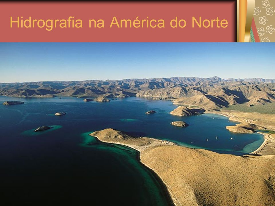 Hidrografia na América do Norte