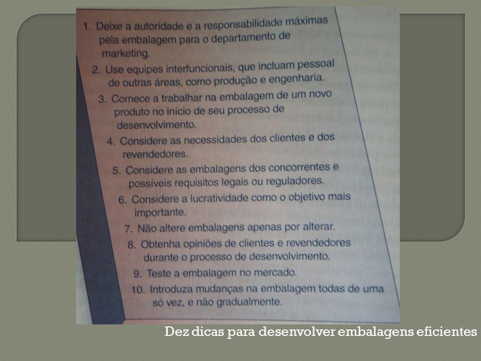 Dez dicas para desenvolver embalagens eficientes