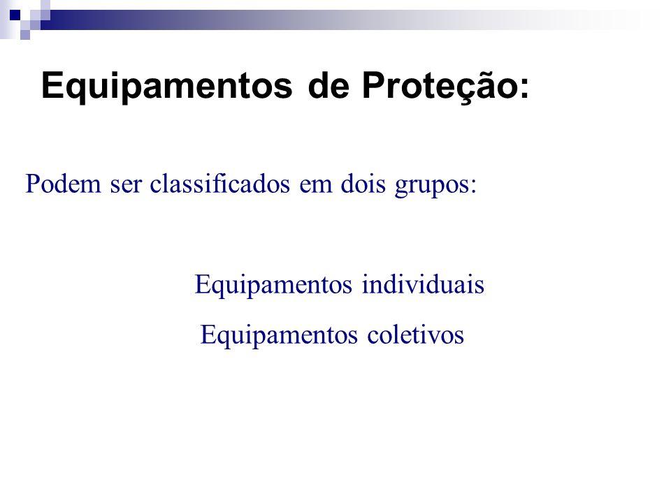 Equipamentos de Proteção: