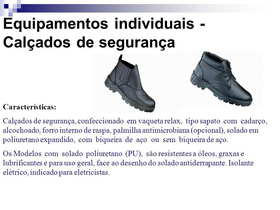 Equipamentos individuais - Calçados de segurança