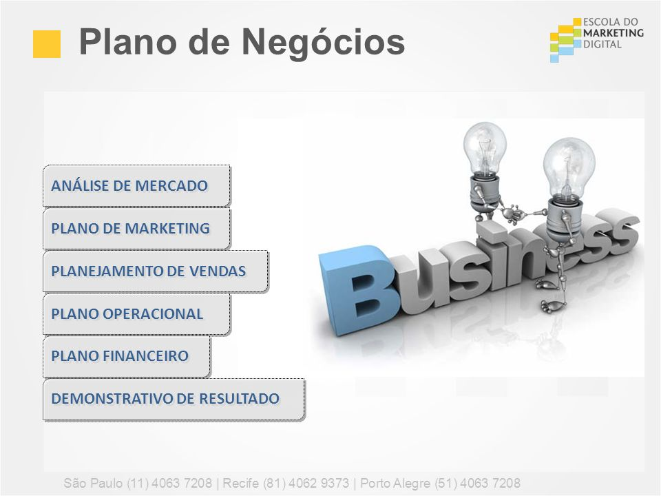 Plano de Negócios ANÁLISE DE MERCADO PLANO DE MARKETING