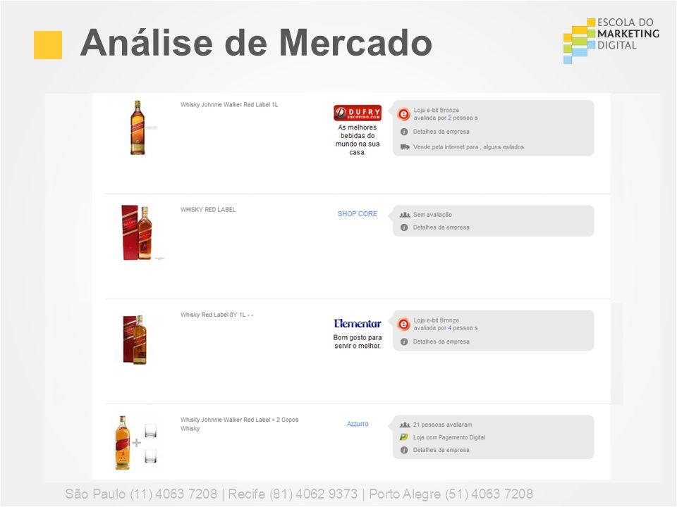 Análise de Mercado Refine essa busca com outros termos: comprar whisky, preço whisky, comprar johnny walker, preço jack daniels.