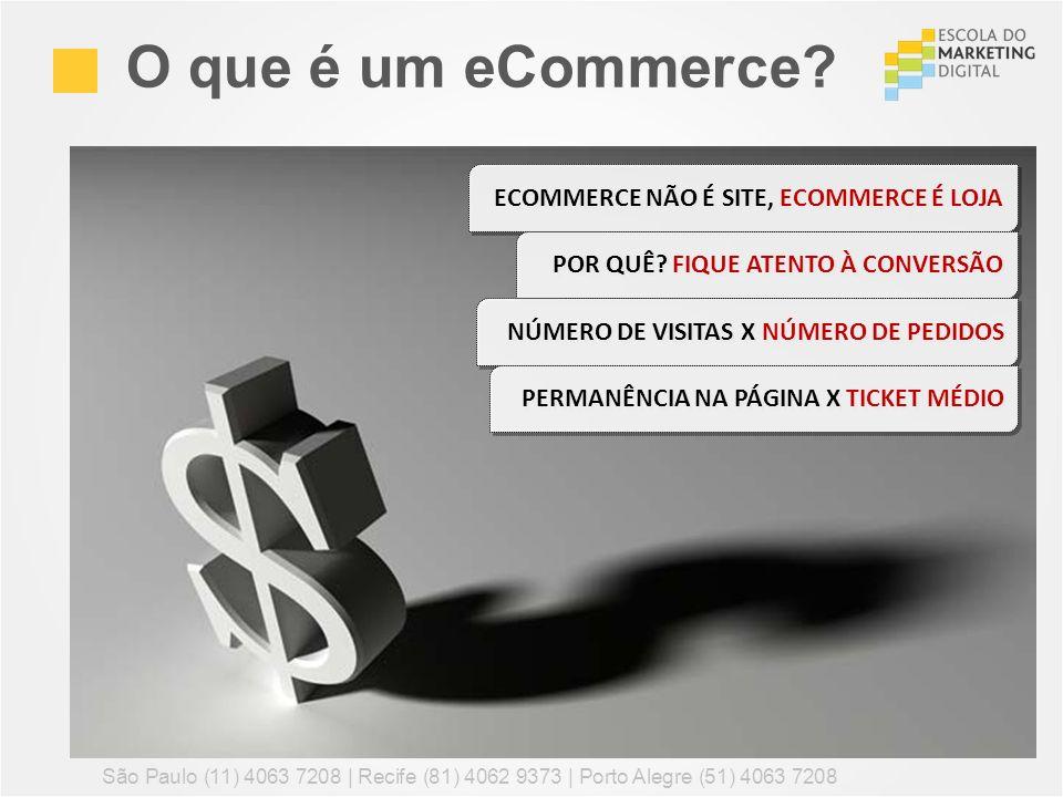 O que é um eCommerce ECOMMERCE NÃO É SITE, ECOMMERCE É LOJA