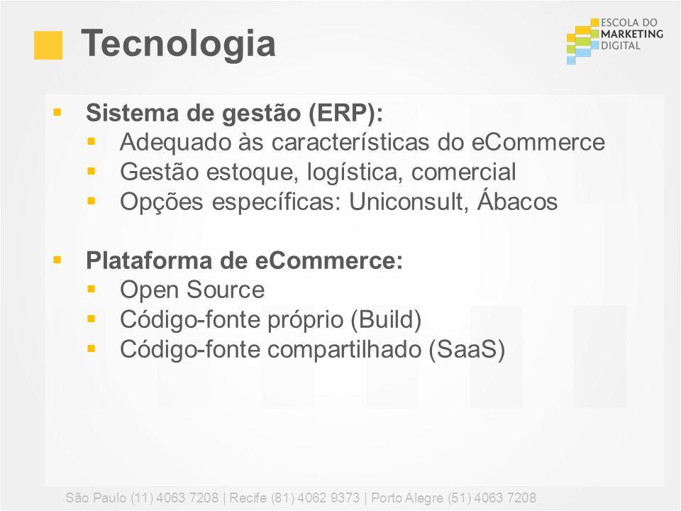 Tecnologia Sistema de gestão (ERP):