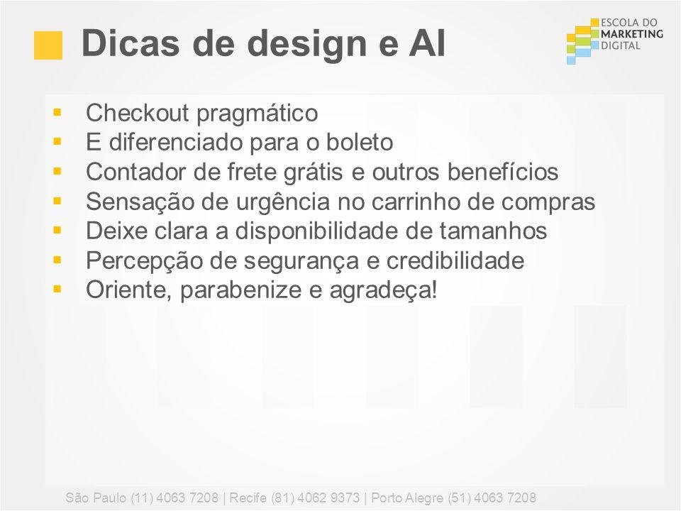 Dicas de design e AI Checkout pragmático E diferenciado para o boleto