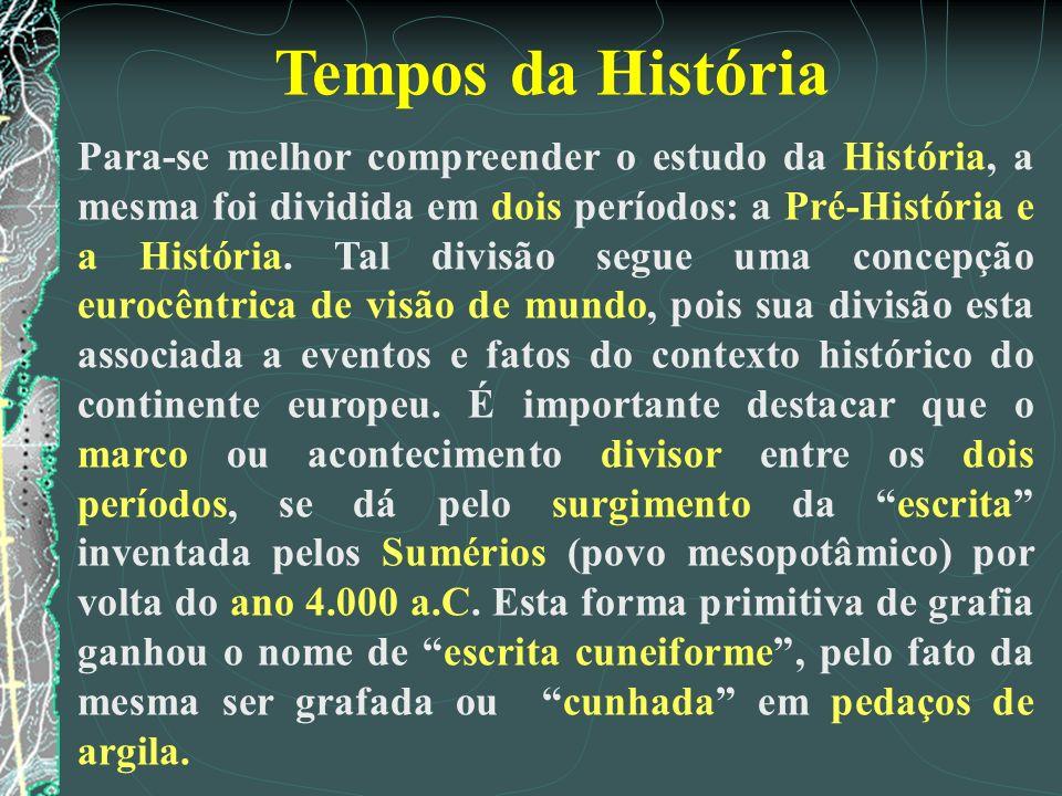 Tempos da História