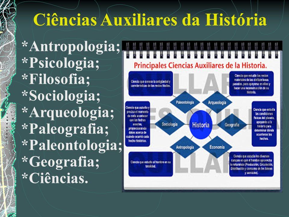 Ciências Auxiliares da História