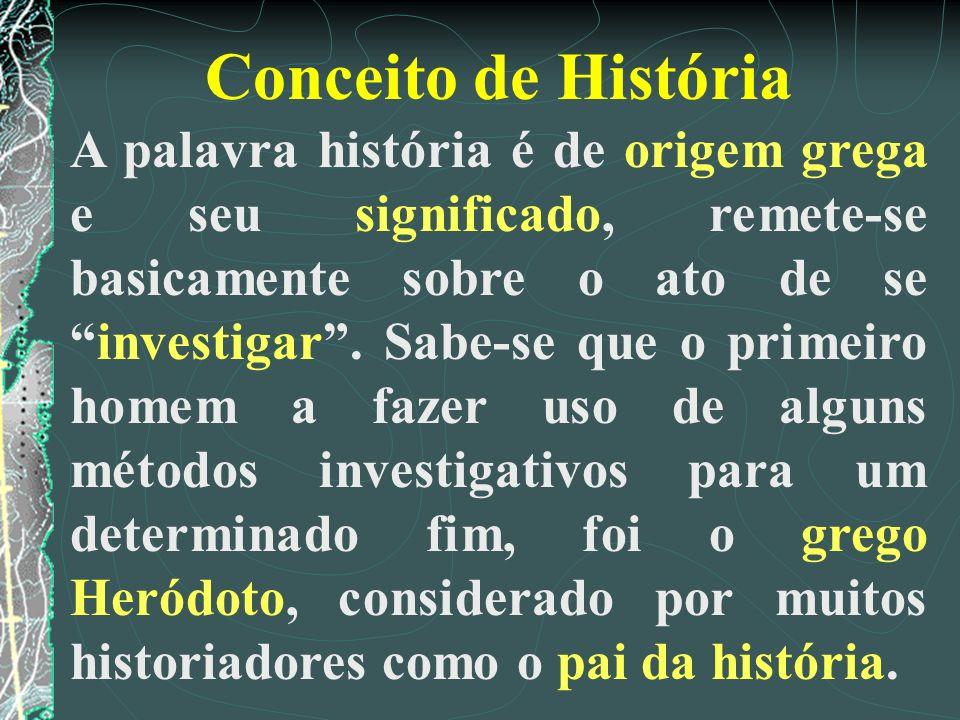 Conceito de História