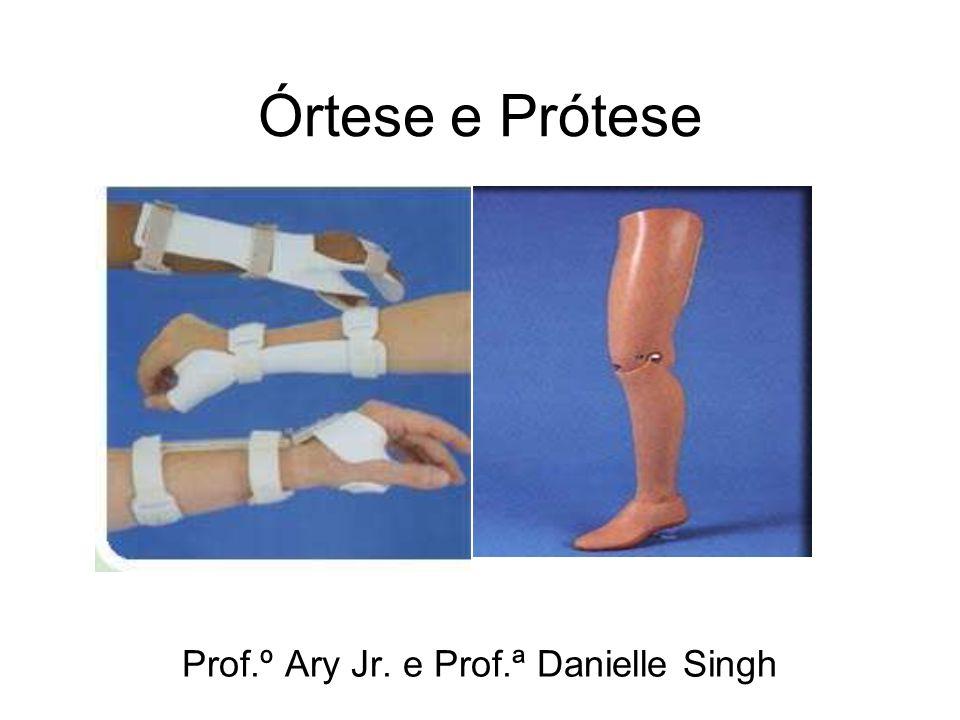 Prof.º Ary Jr. e Prof.ª Danielle Singh
