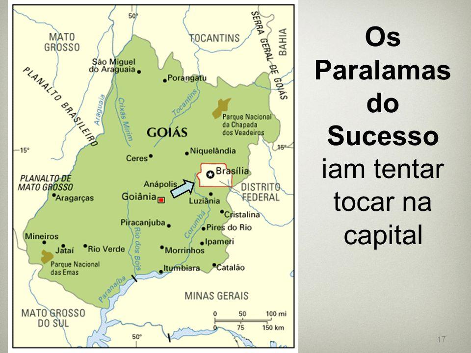 Os Paralamas do Sucesso iam tentar tocar na capital