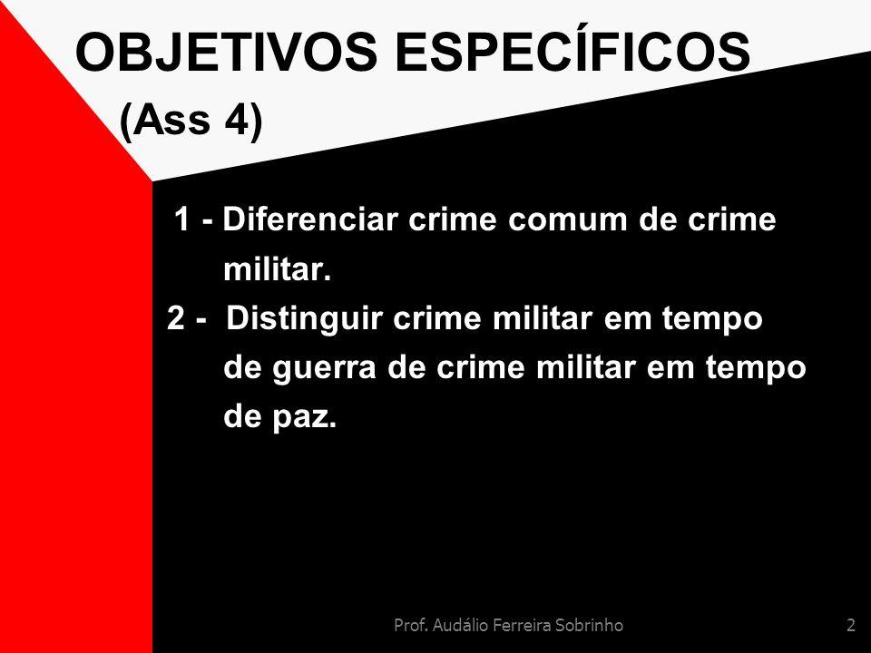 OBJETIVOS ESPECÍFICOS (Ass 4)