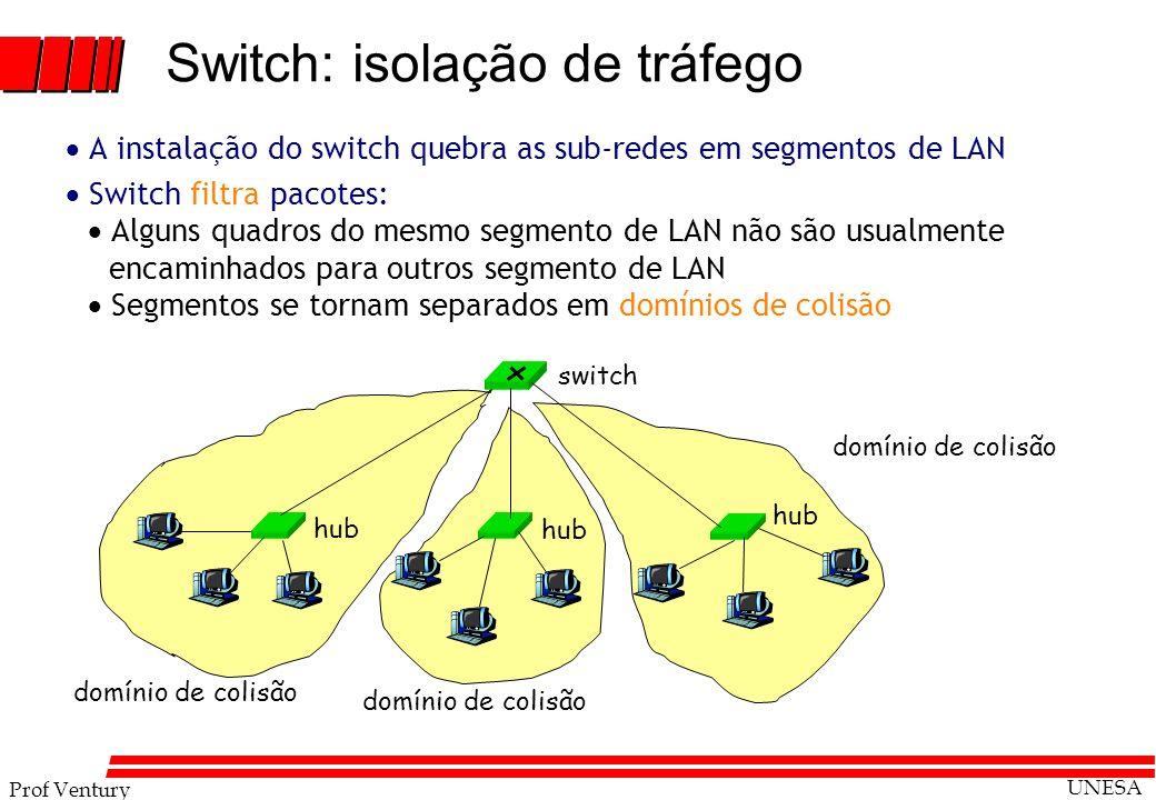 Switch: isolação de tráfego
