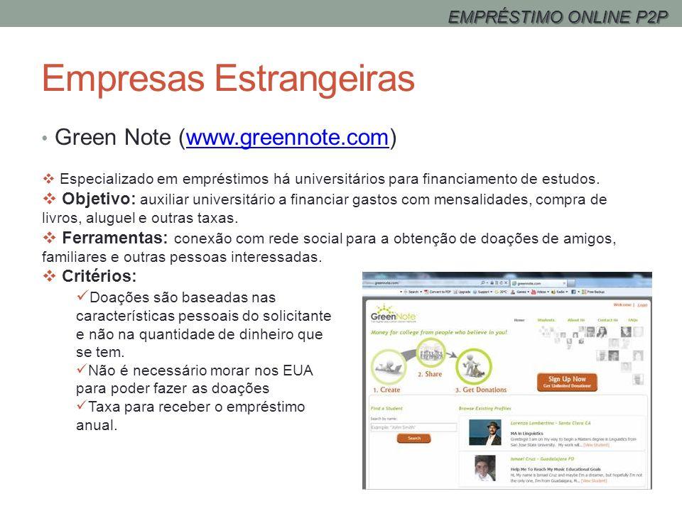 Empresas Estrangeiras