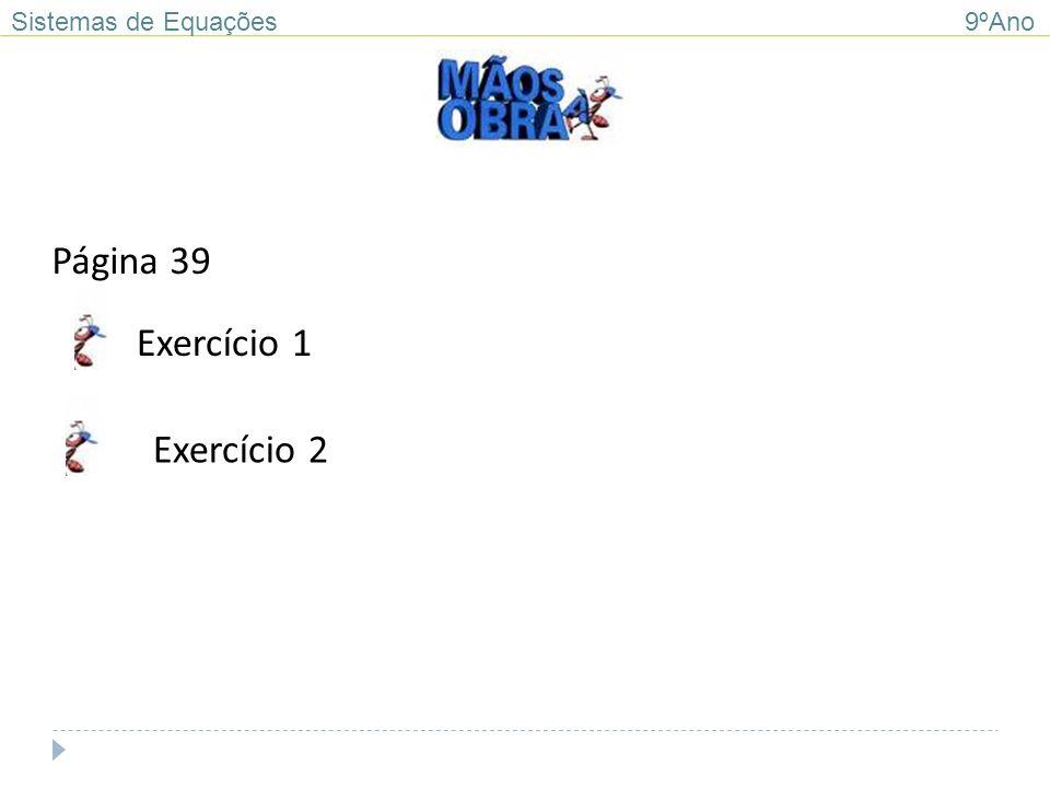 Sistemas de Equações 9ºAno