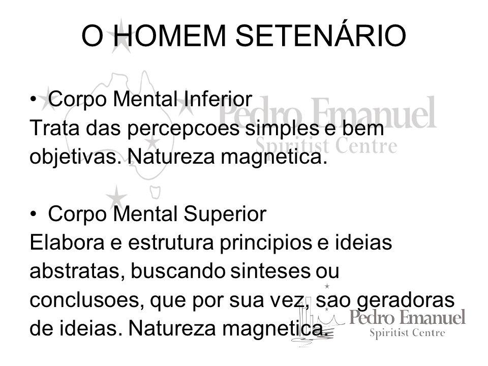 O HOMEM SETENÁRIO Corpo Mental Inferior