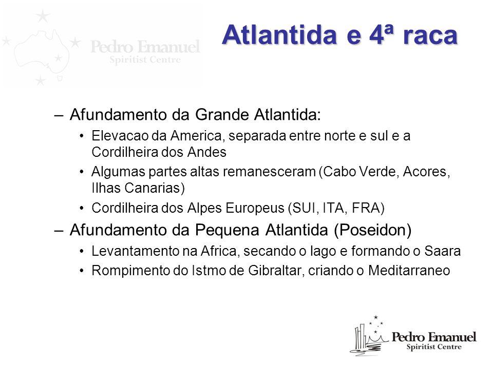 Atlantida e 4ª raca Afundamento da Grande Atlantida: