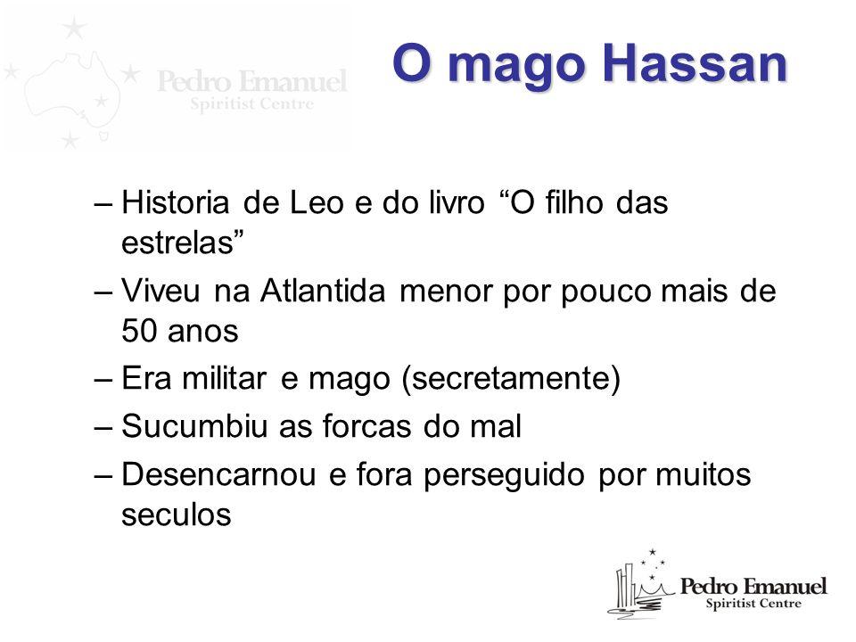 O mago Hassan Historia de Leo e do livro O filho das estrelas