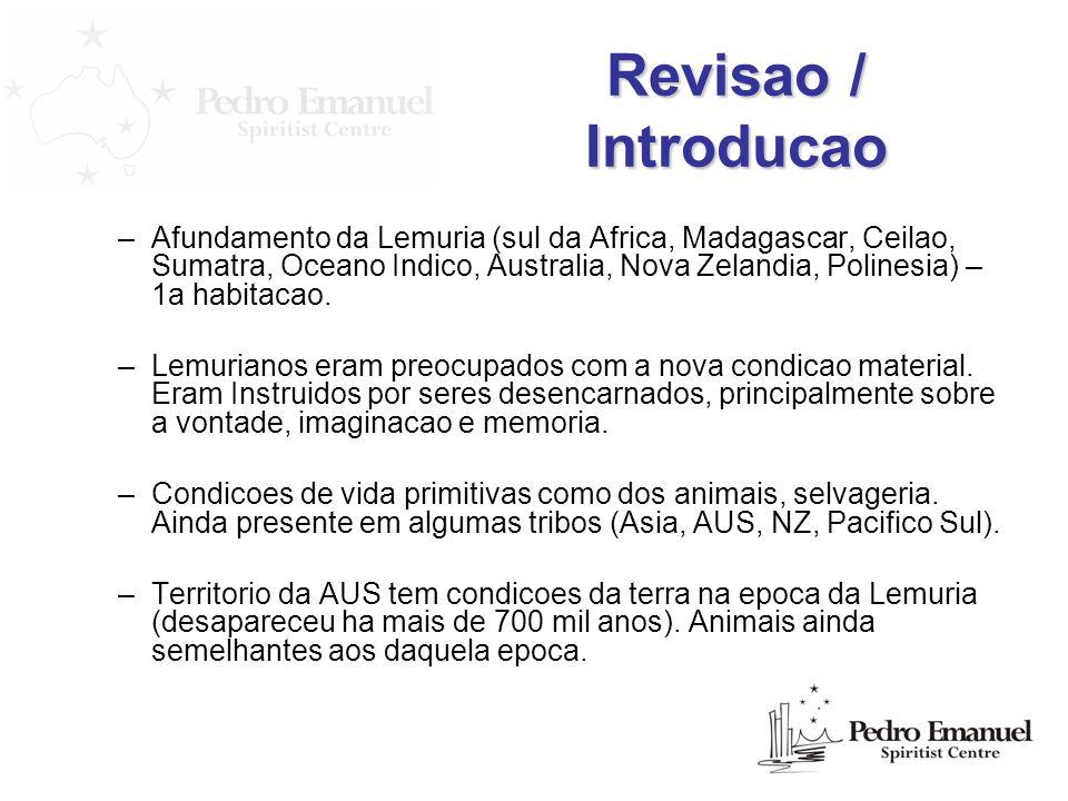 Revisao / Introducao
