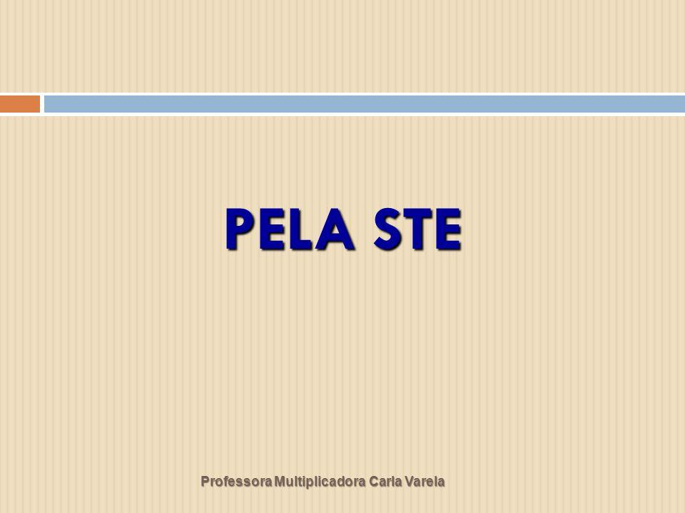 PELA STE Professora Multiplicadora Carla Varela