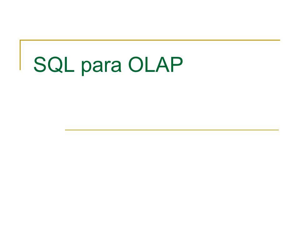 SQL para OLAP