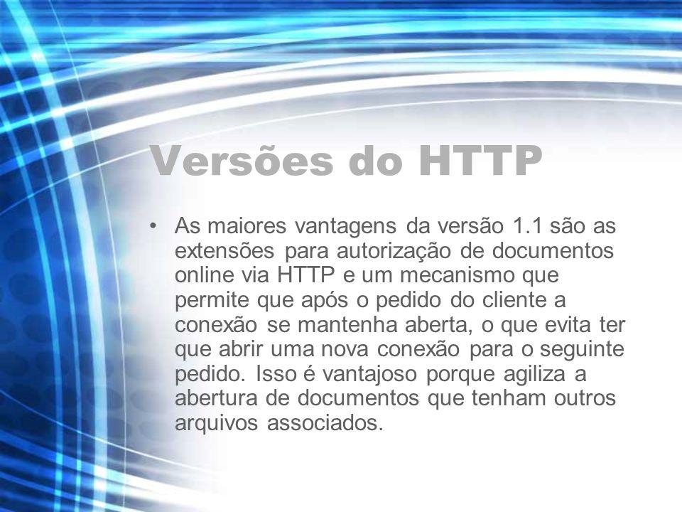 Versões do HTTP