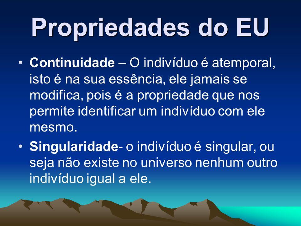 Propriedades do EU