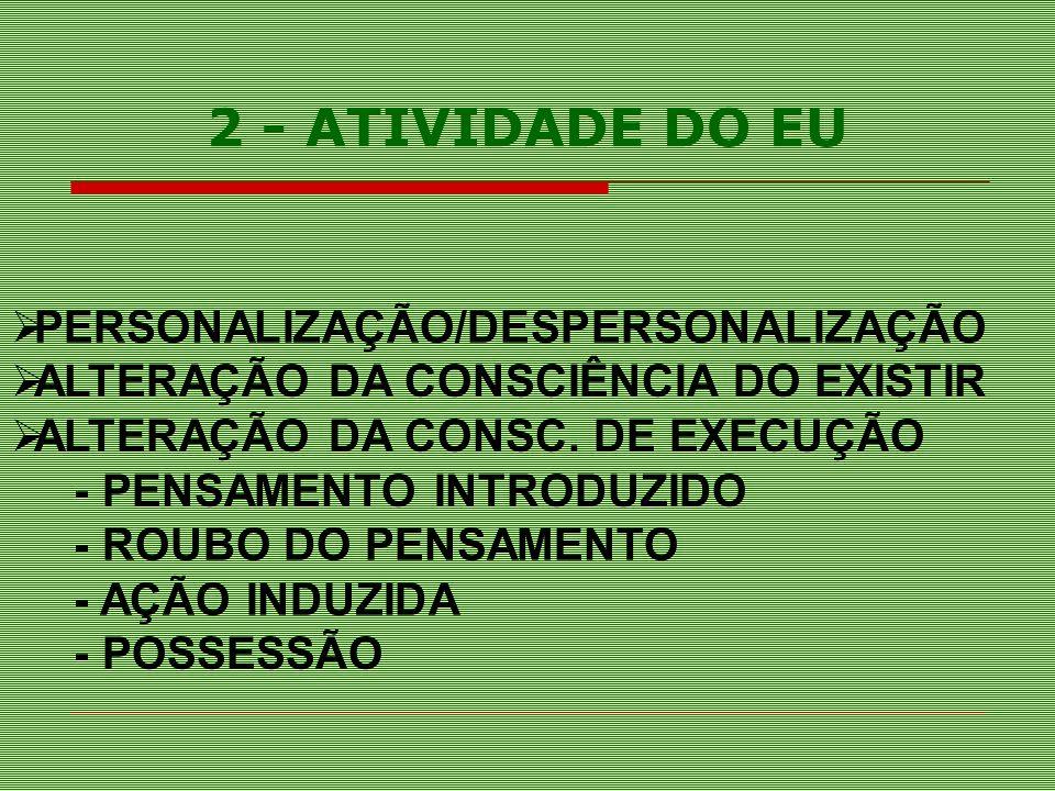 2 - ATIVIDADE DO EU PERSONALIZAÇÃO/DESPERSONALIZAÇÃO