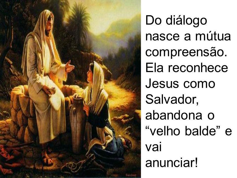 Do diálogo nasce a mútua compreensão.