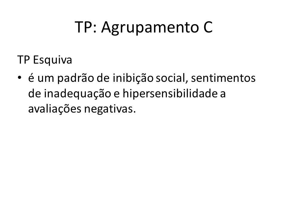 TP: Agrupamento C TP Esquiva