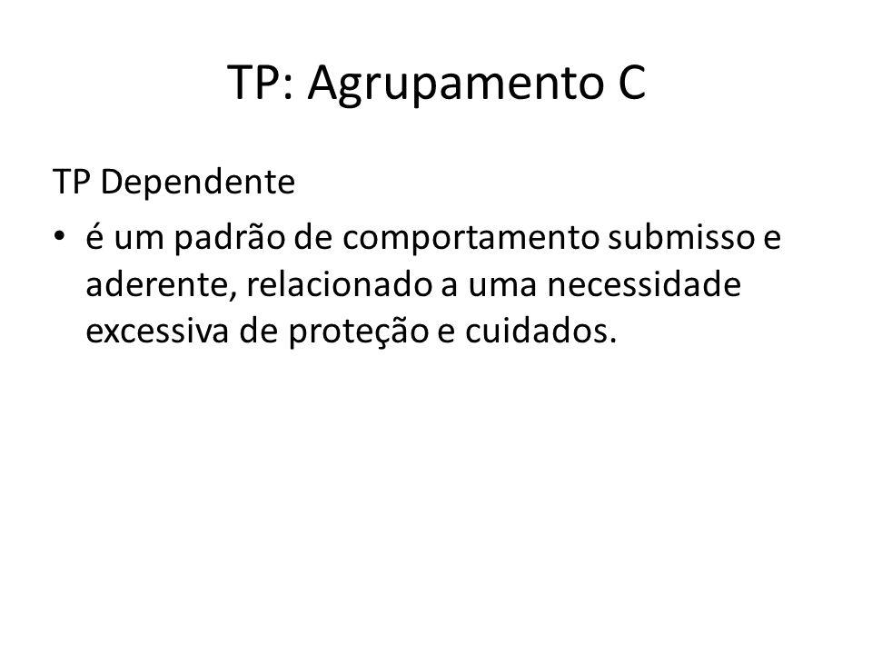 TP: Agrupamento C TP Dependente
