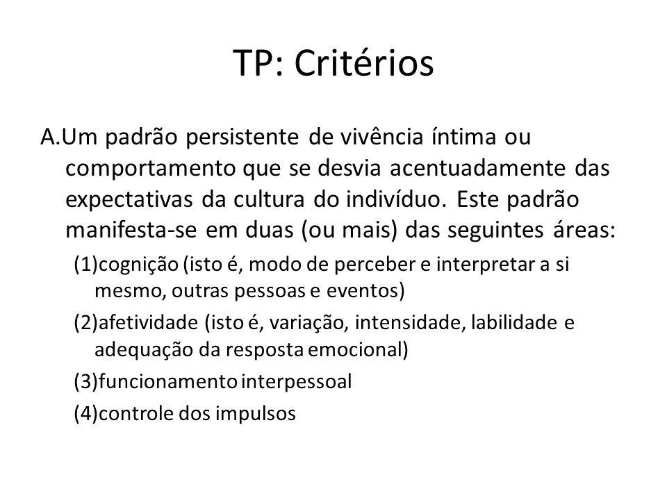 TP: Critérios