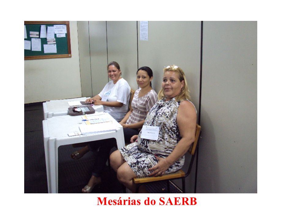 Mesárias do SAERB