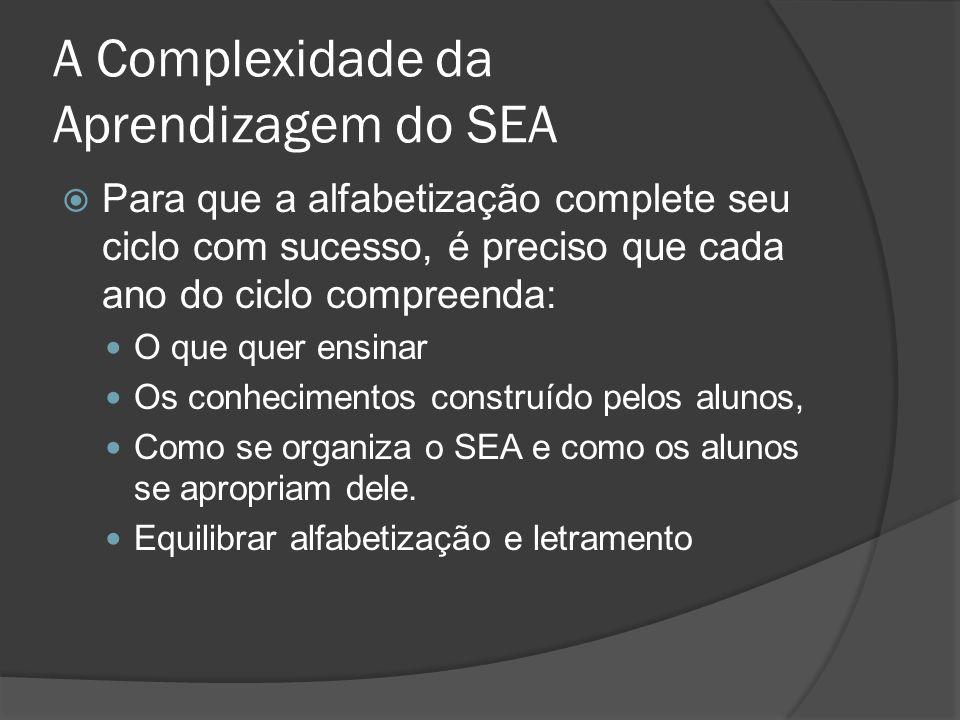 A Complexidade da Aprendizagem do SEA