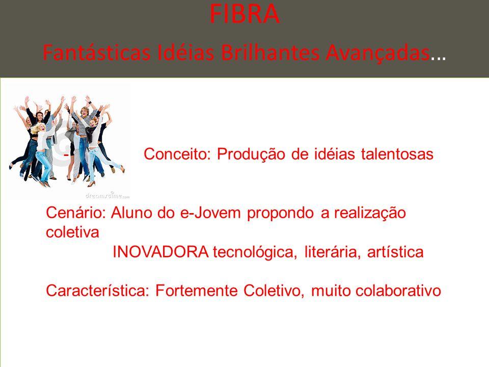 FIBRA Fantásticas Idéias Brilhantes Avançadas...