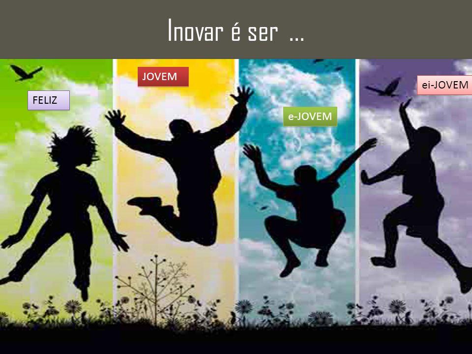 Inovar é ser ... JOVEM ei-JOVEM FELIZ e-JOVEM