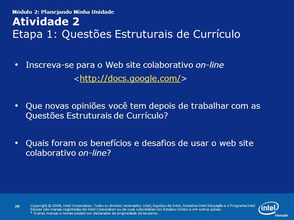 Inscreva-se para o Web site colaborativo on-line