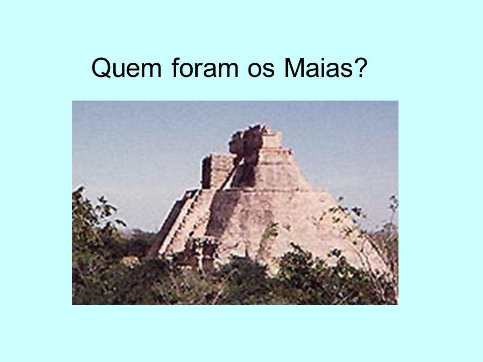 Quem foram os Maias